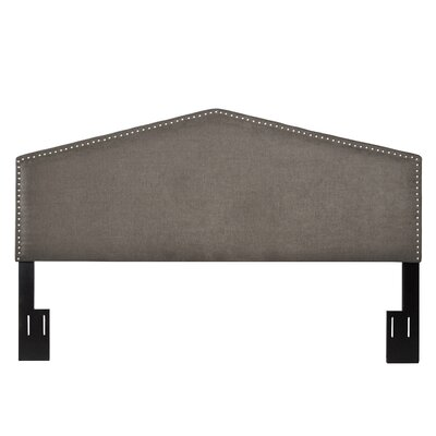 Upholstered Arch Panel Headboard Size: King/California King