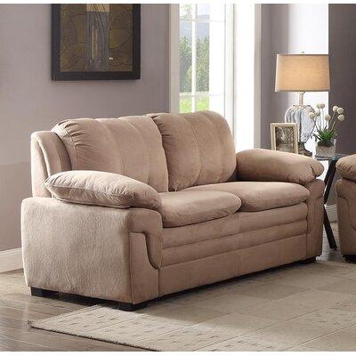 Chan Loveseat Upholstery: Saddle