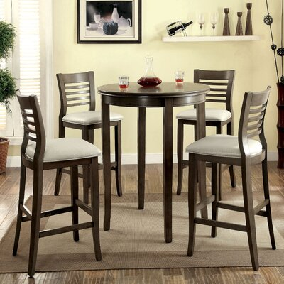 Coleraine 5 Piece Pub Table Set