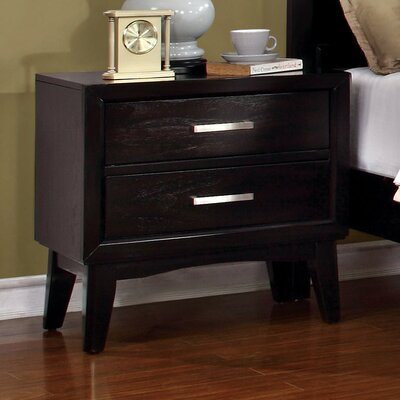 Jacob 2 Drawer Nightstand