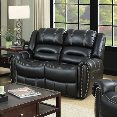 Laura Reclining Loveseat Type: Manual