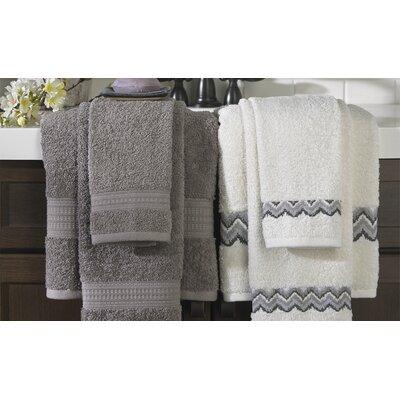 6 Piece Towel Set Color: Gray