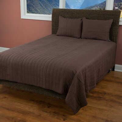 Smithwick Quilt Size: Full/Queen, Color: Brown/Mocha