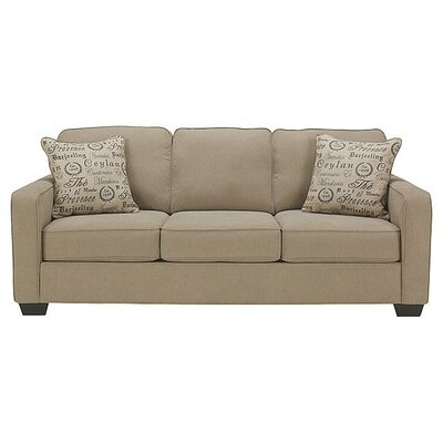 Spahn Queen Sleeper Sofa Upholstery: Light Khaki