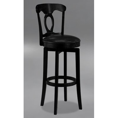 Cornerstone 30 Swivel Bar Stool Finish: Black