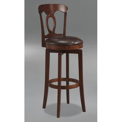 Cornerstone 30 Swivel Bar Stool Finish: Brown
