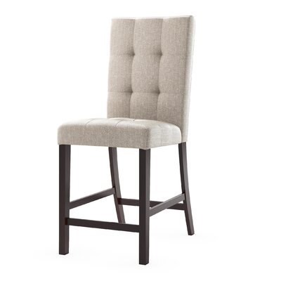 Burgess Parsons Chair Upholstery: Platinum Sage
