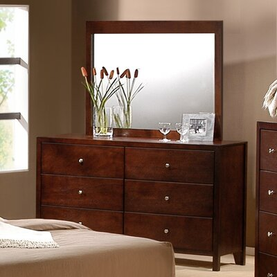 Mill Creek 6 Drawer Dresser and Mirror Set