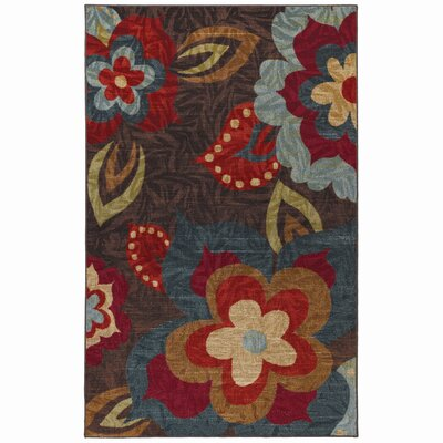 Empyrean Brown / Red Area Rug Rug Size: 5 x 8