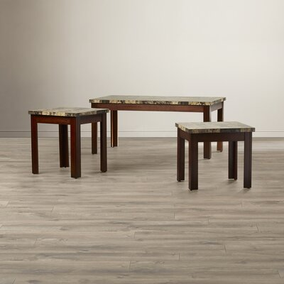 Valholl 3 Piece Coffee Table Set