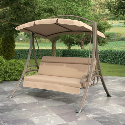 Portside Porch Swing with Arched Canopy