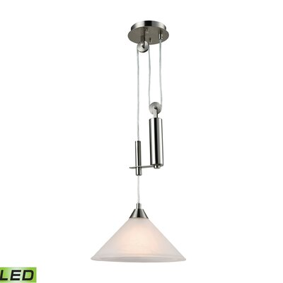 Beecroft 1-Light Metal Mini Pendant Bulb Type: 9.5W LED