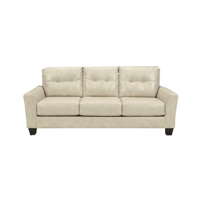 Moscato Leather Sofa Upholstery: Taupe