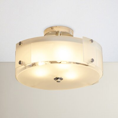 Carillon 3-Light Semi Flush Mount