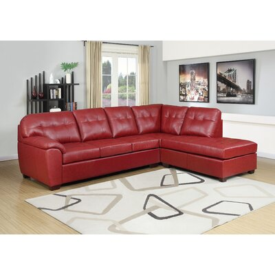 Mill Creek Sectional Upholstery: Red
