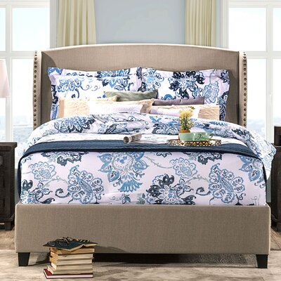 Mabrey Upholstered Panel Bed Size: Queen