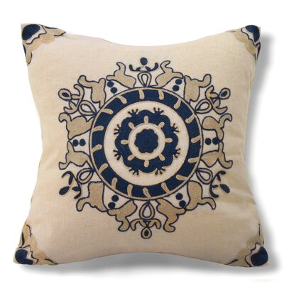 Jinie Cotton Throw Pillow