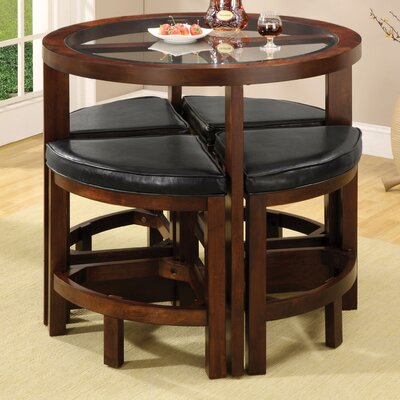 Alchemist 5 Piece Counter Height Pub Table Set