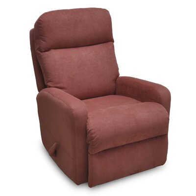 Mahomet Manual Rocker Recliner Upholstery: Auburn
