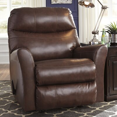 Lynwood Rocker Recliner Upholstery: Brown