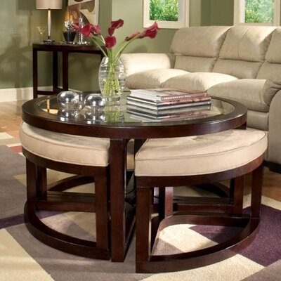 Sun King Coffee Table and stools