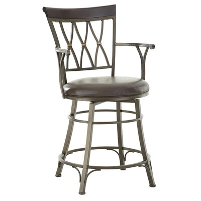 Ellis Island 24 Swivel Bar Stool