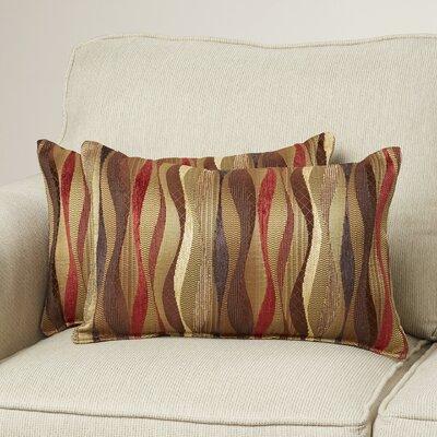Ortega Lumbar Pillow Color: Brick