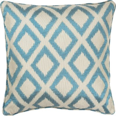 Redbud Outdoor Throw Pillow Size: 18 H x 18 W x 0.5 D, Color: Turquoise