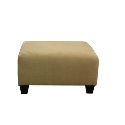 Burwood Ottoman Upholstery: Bulldozer Cobalt
