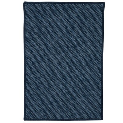 Ommegang Hand-Woven Navy Area Rug Rug Size: 12 x 15