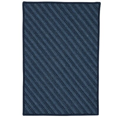 Ommegang Hand-Woven Navy Area Rug Rug Size: 6 x 9