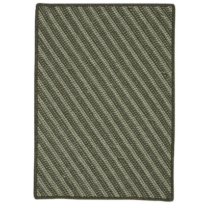 Ommegang Hand-Woven Green Area Rug Rug Size: 5 x 7