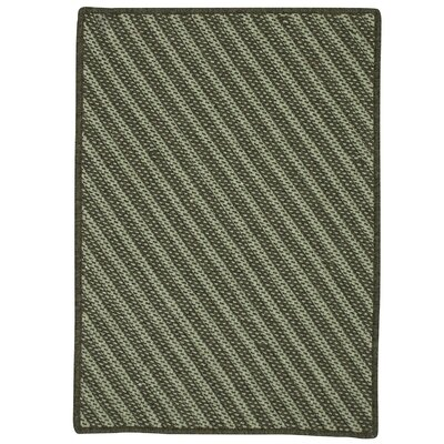 Ommegang Hand-Woven Green Area Rug Rug Size: 6 x 9