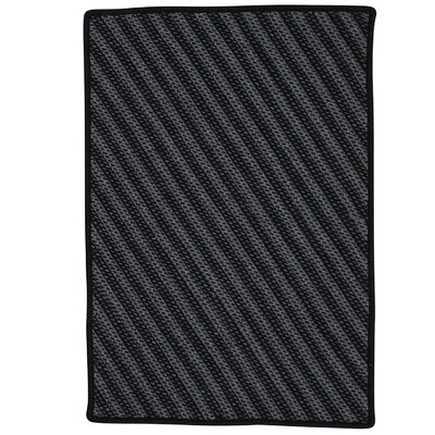 Ommegang Hand-Woven Black Area Rug Rug Size: 3 x 5
