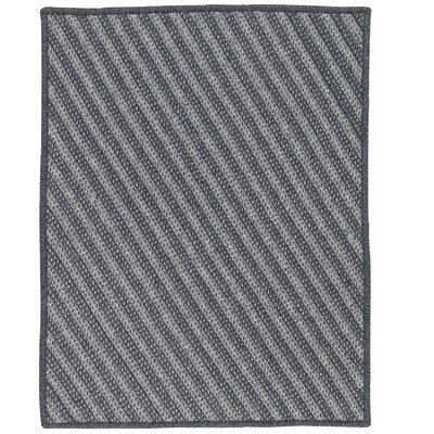 Ommegang Hand-Woven Charcoal Area Rug Rug Size: 8 x 10