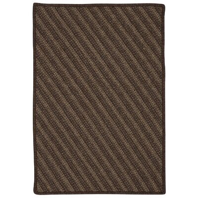 Ommegang Hand-Woven Brown Area Rug Rug Size: 3' x 5'