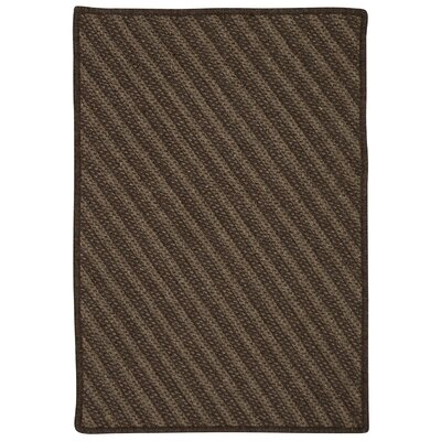 Ommegang Hand-Woven Brown Area Rug Rug Size: 6' x 9'