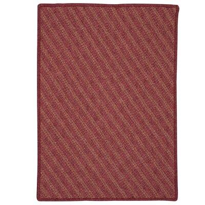 Ommegang Hand-Woven Cedar Area Rug Rug Size: 5' x 7'