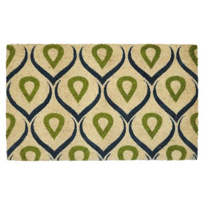 Coir Doormat Color: Green