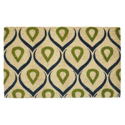 Coir Doormat Color: Green