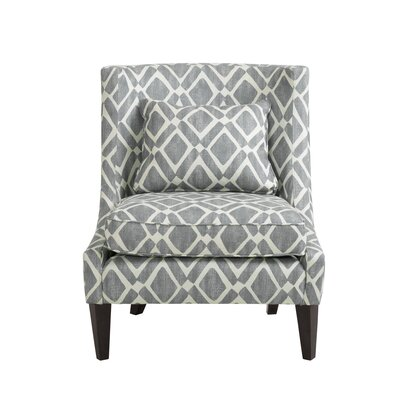 Ameche Swoop Slipper Chair Upholstery: Gray