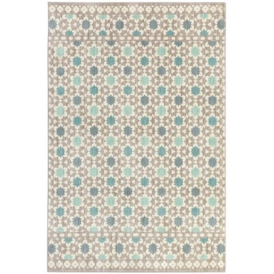 Bower Grey Area Rug Rug Size: Rectangle 8 x 10
