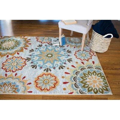 Coast Gray Indoor Area Rug Rug Size: Rectangle 76 x 10