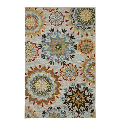 Coast Gray Indoor Area Rug Rug Size: Rectangle 5 x 8