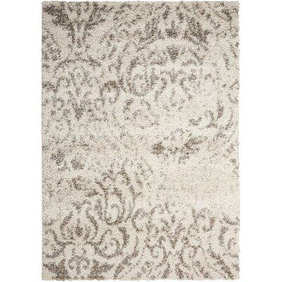 Puyallup River Cream Area Rug Rug Size: Rectangle 5 x 7