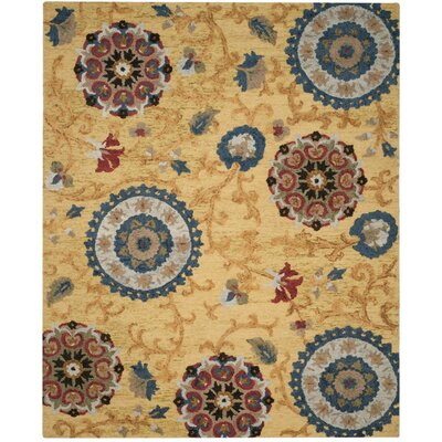 Abrahamic Hand-Tufted Area Rug Rug Size: 8 x 10