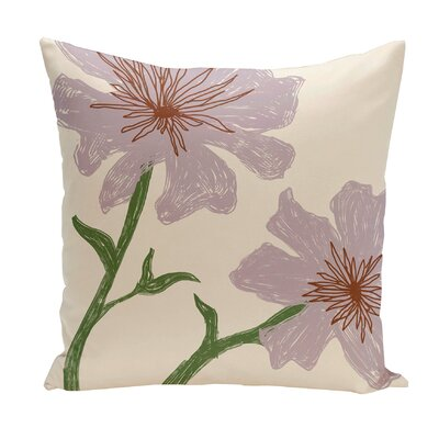 Broad Brook Outdoor Throw Pillow Color: Purple