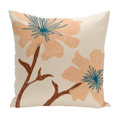 Broad Brook Outdoor Throw Pillow Color: Ivory