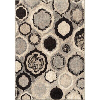 Falmer Gray Area Rug Rug Size: 710 x 1010