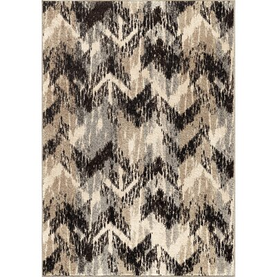 Falmer Gray Area Rug Rug Size: 53 x 76